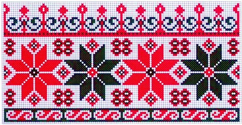 Удмуртская вышивка и орнамент 100